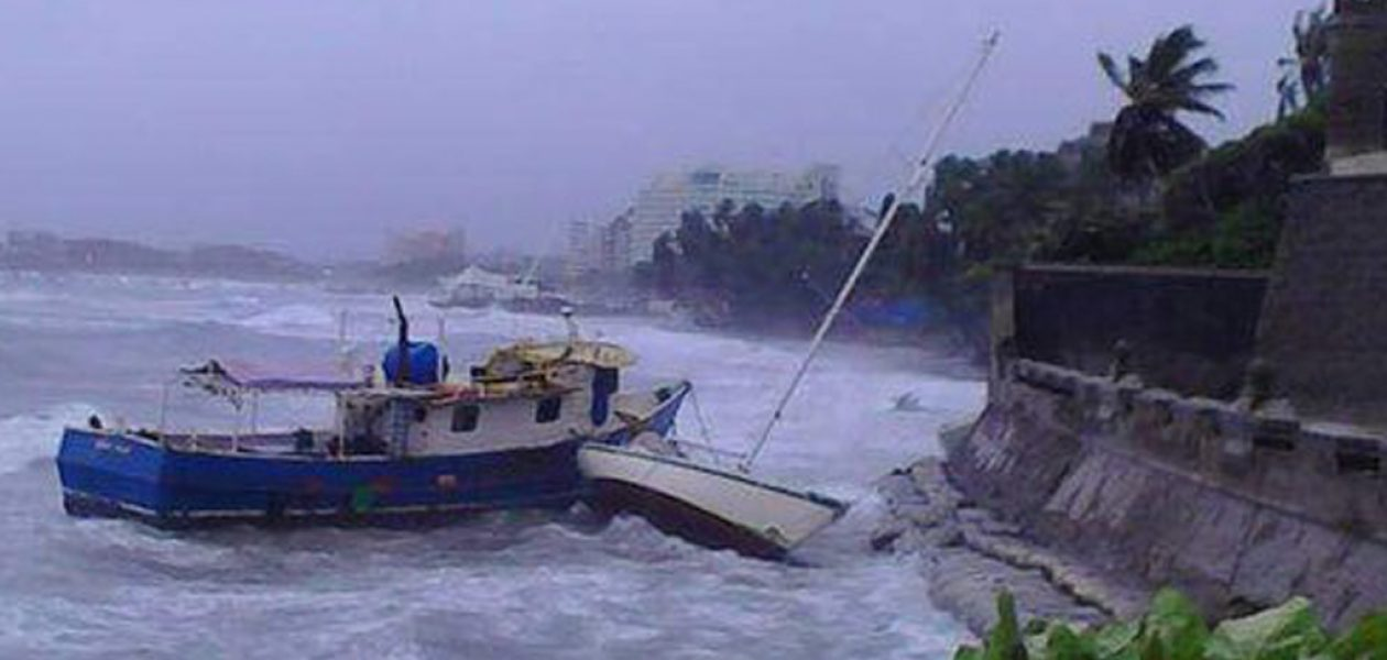 Videos de la tormenta Bret en Margarita