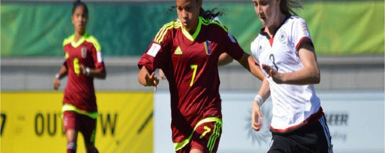 La Vinotinto femenina cayó ante Alemania 2-1