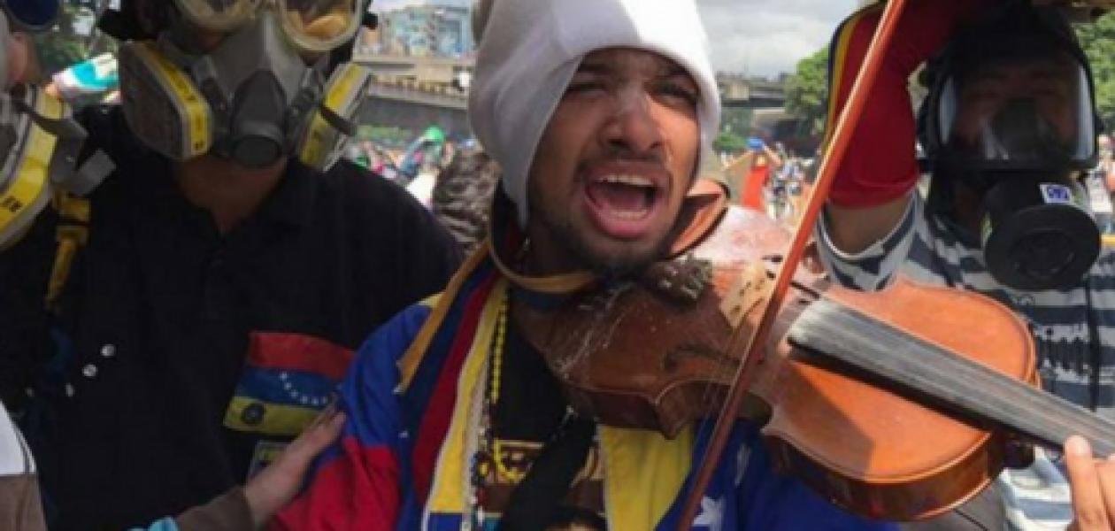Para Willy Arteaga, violinista venezolano