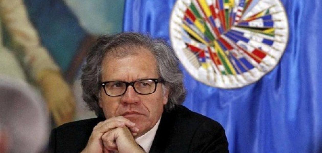 Almagro denuncia detención arbitraria de dirigentes opositores