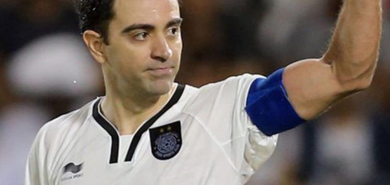Xavi Hernández es expulsado en la final del fútbol Catar