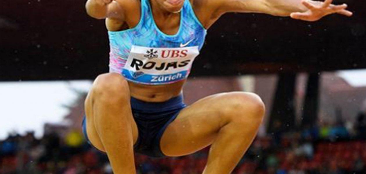 Yulimar Rojas gana medalla de plata en la Liga Diamante