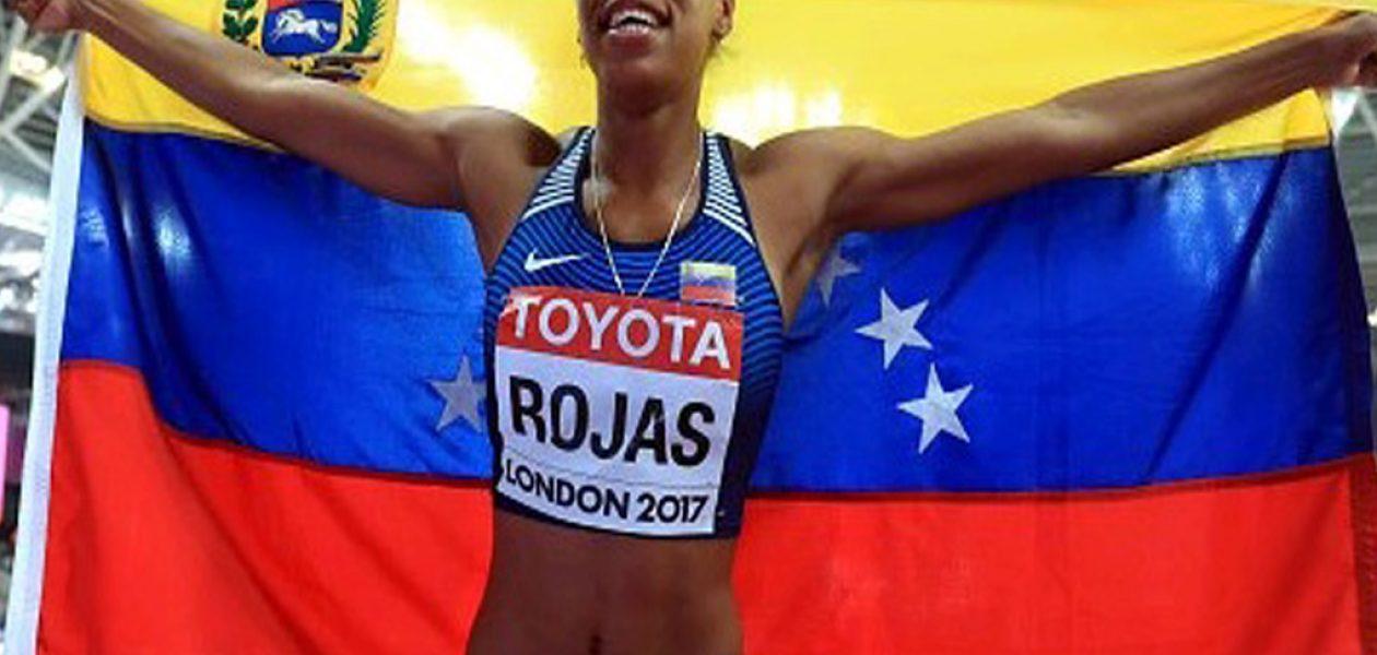 Yulimar Rojas medalla de oro en el Mundial de Atletismo 2017