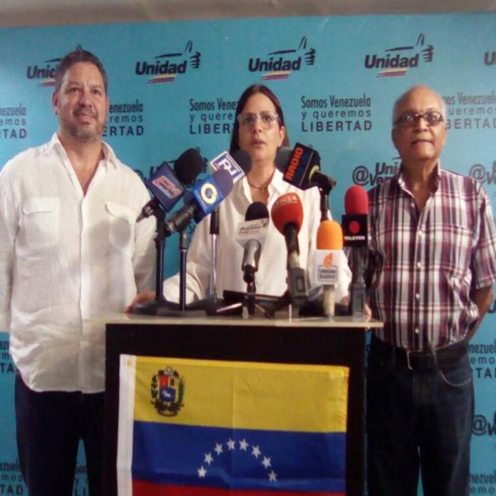 Candidatos que renunciaron a regionales: MUD pide publicar lista