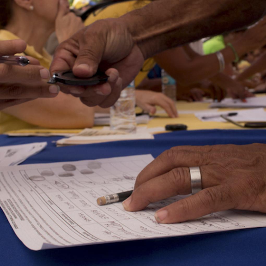 Cuales son los centros de votación para las primarias