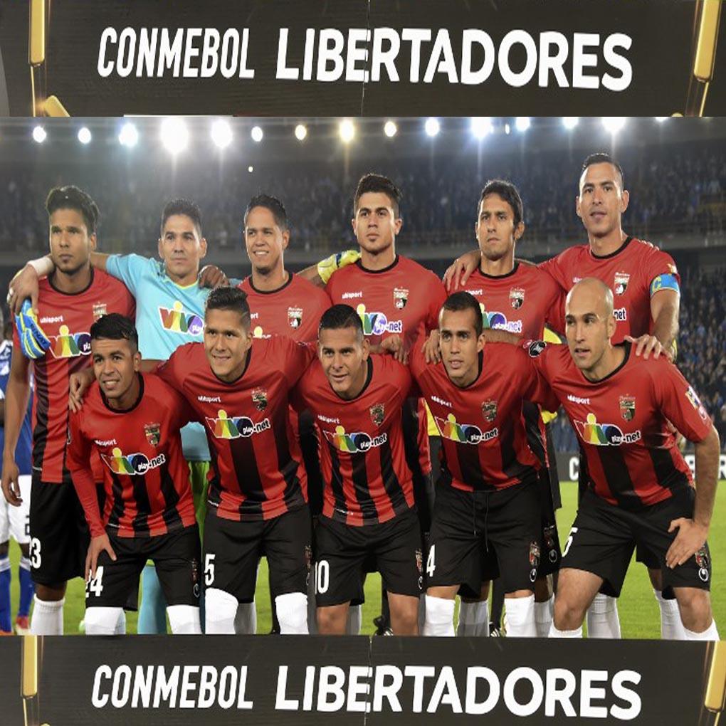Deportivo Lara Millonarios de Bogotá Copa Libertadores 2018 en vivo