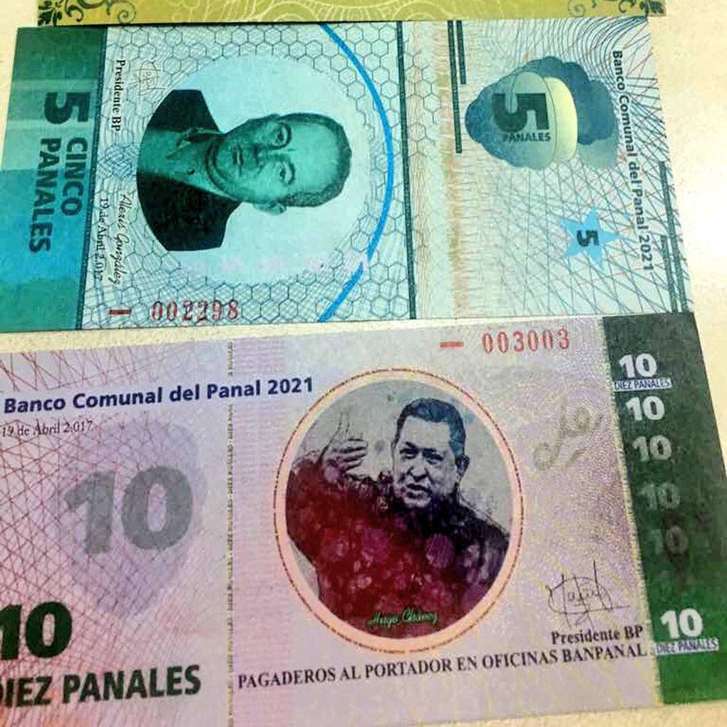 Nuevo billete El Panal con la cara de Chávez