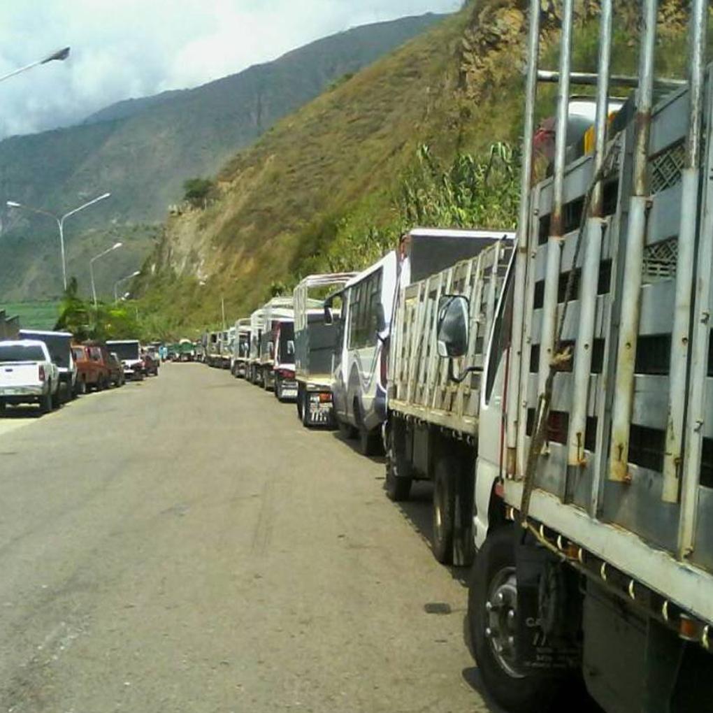 Escasez de diesel en Táchira paraliza a camiones de frutas y hortalizas