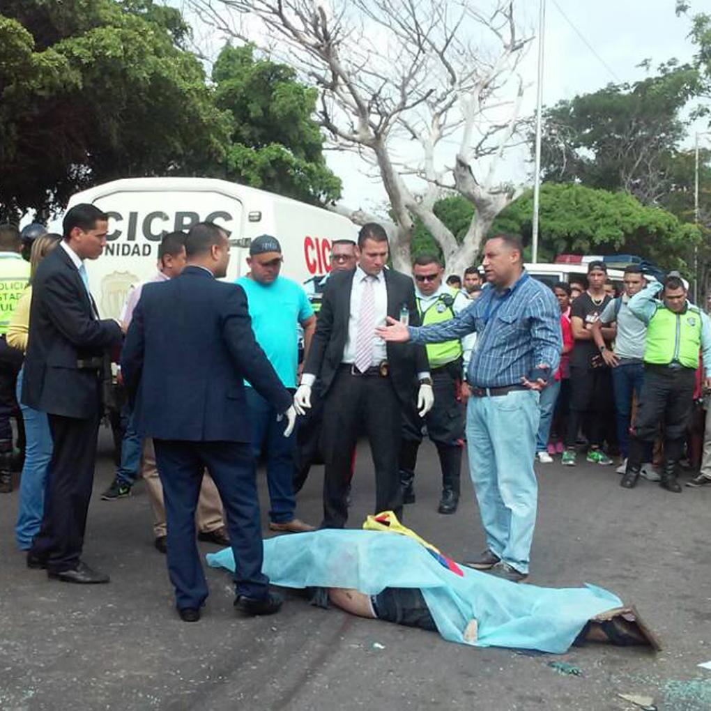 Luis Vera estudiante de Urbe arrollado en protesta