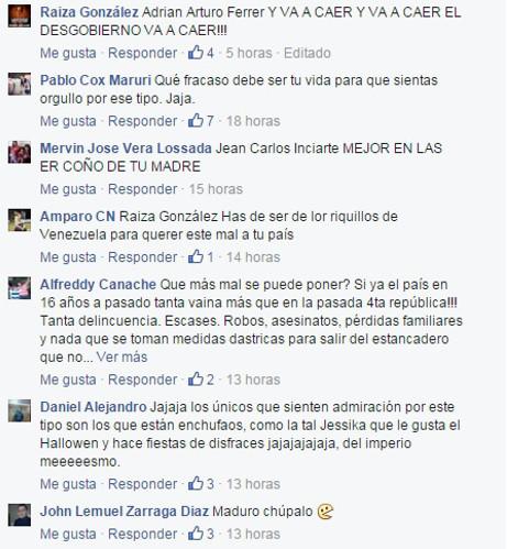 facebook de maduro