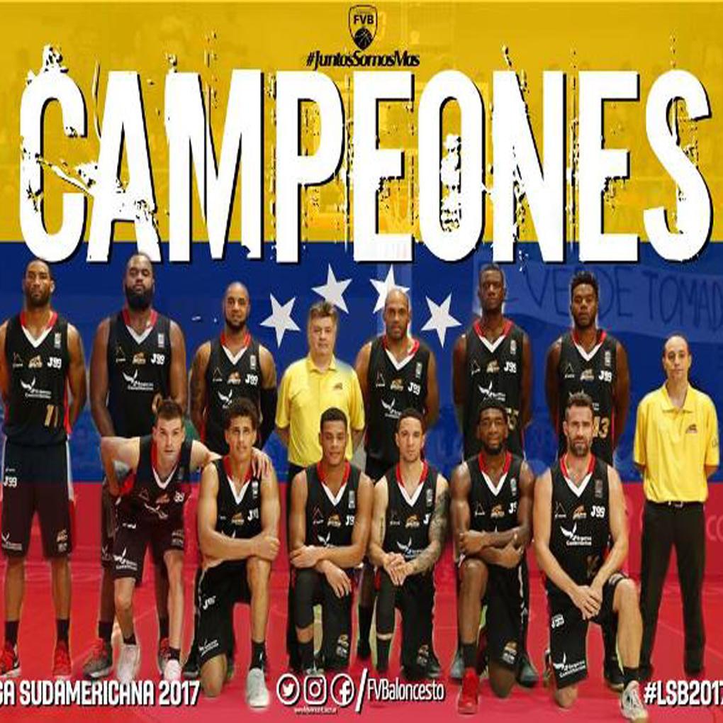 Guaros de Lara campeón 2017 de la Liga Sudamericana