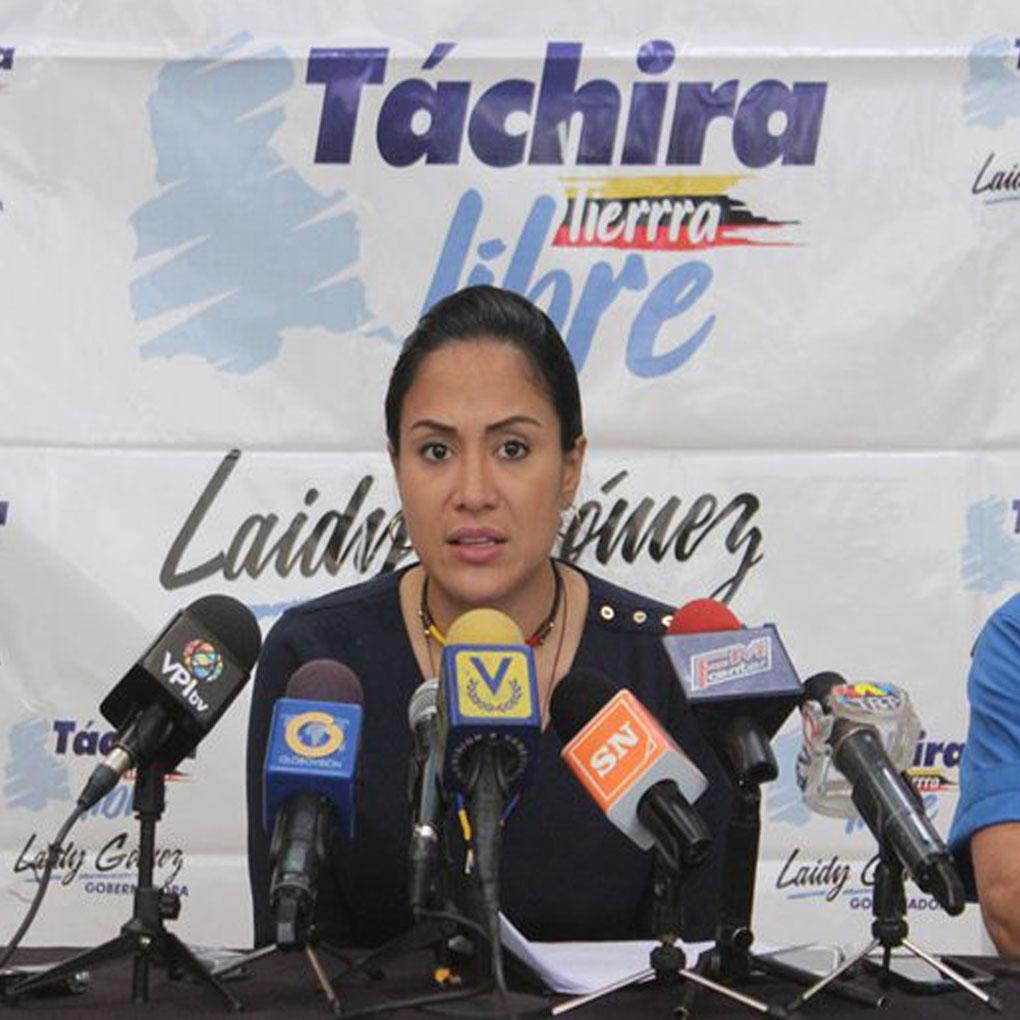 """Laidy Gómez a Guanipa: """"Entregaste el Zulia y decepcionaste al pueblo"""""""