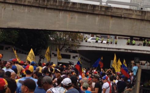 marcha al cne Caracas