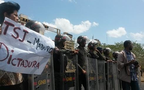 Así fue la marcha de hoy en Guayana y Puerto Ordaz