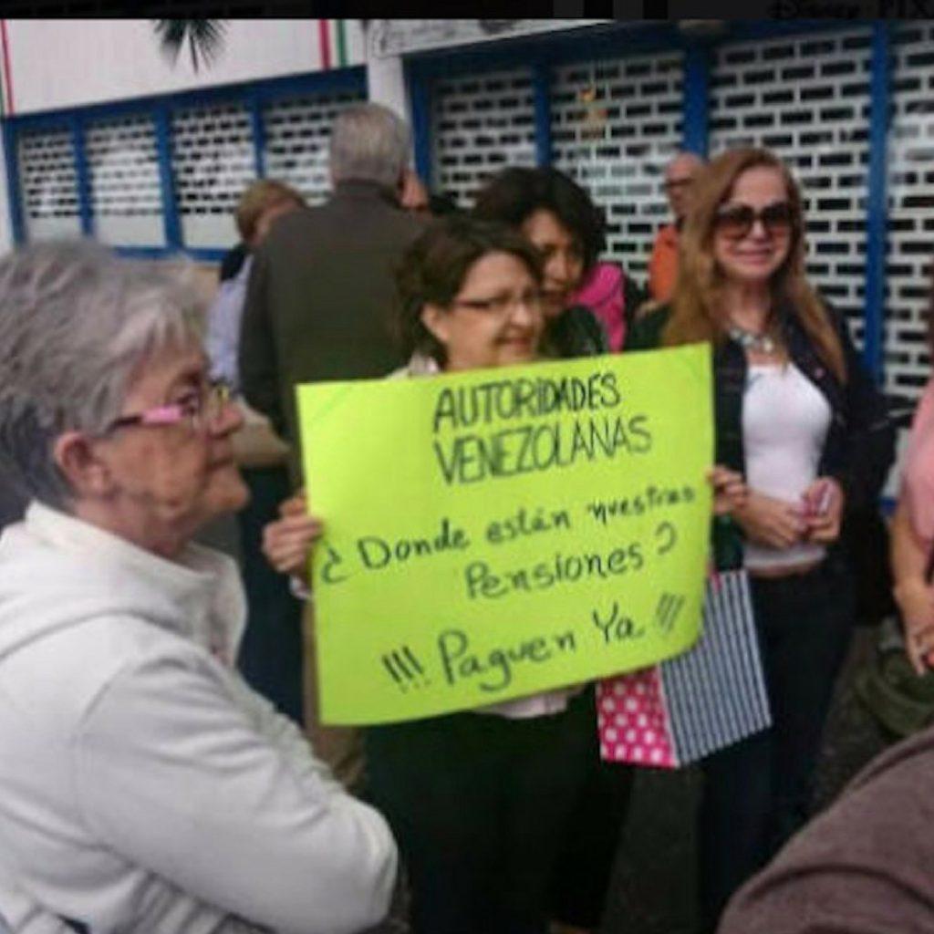 ¿Por qué no envían los pagos a los pensionados venezolanos en el exterior ?