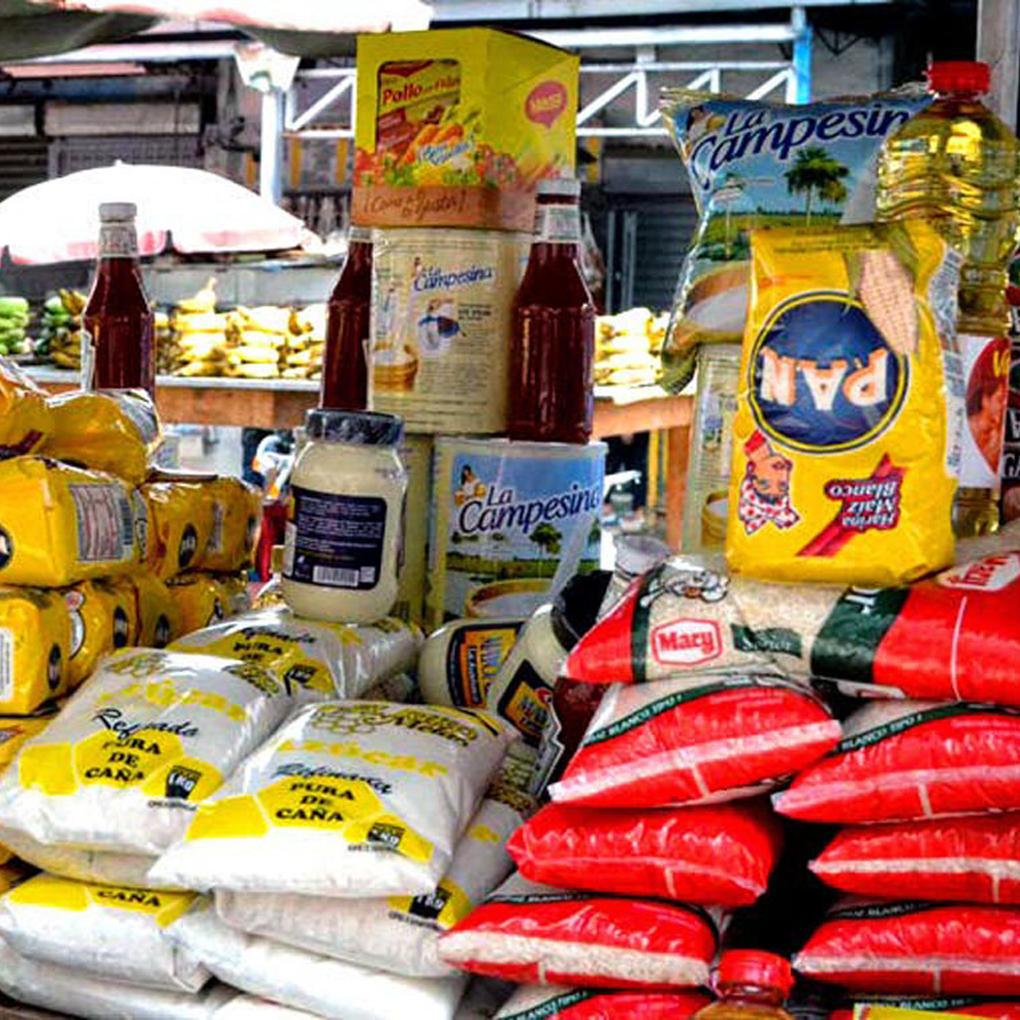 Lista de precios de los productos básicos en Venezuela