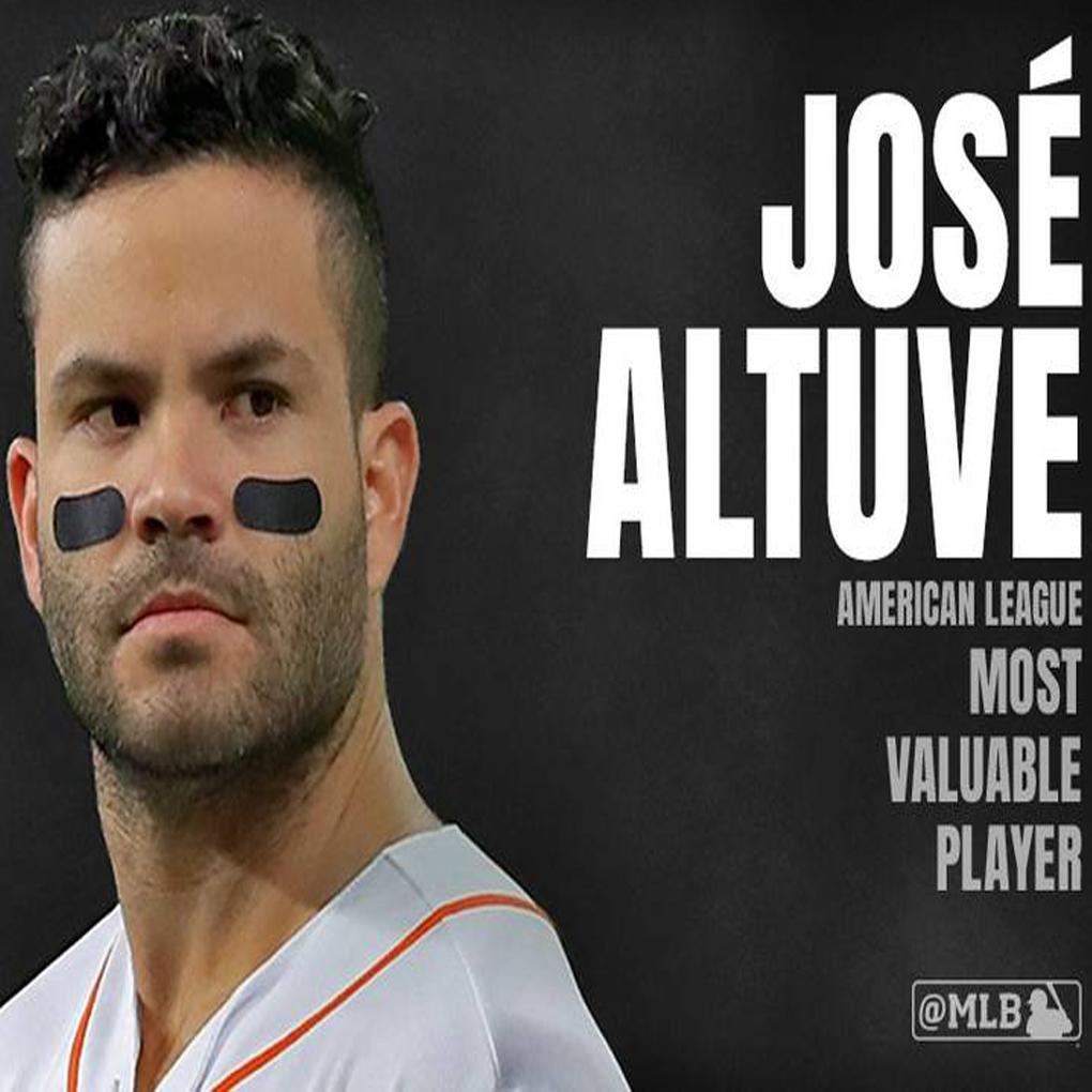 Premio MVP MLB 2017 es para el venezolano José Altuve