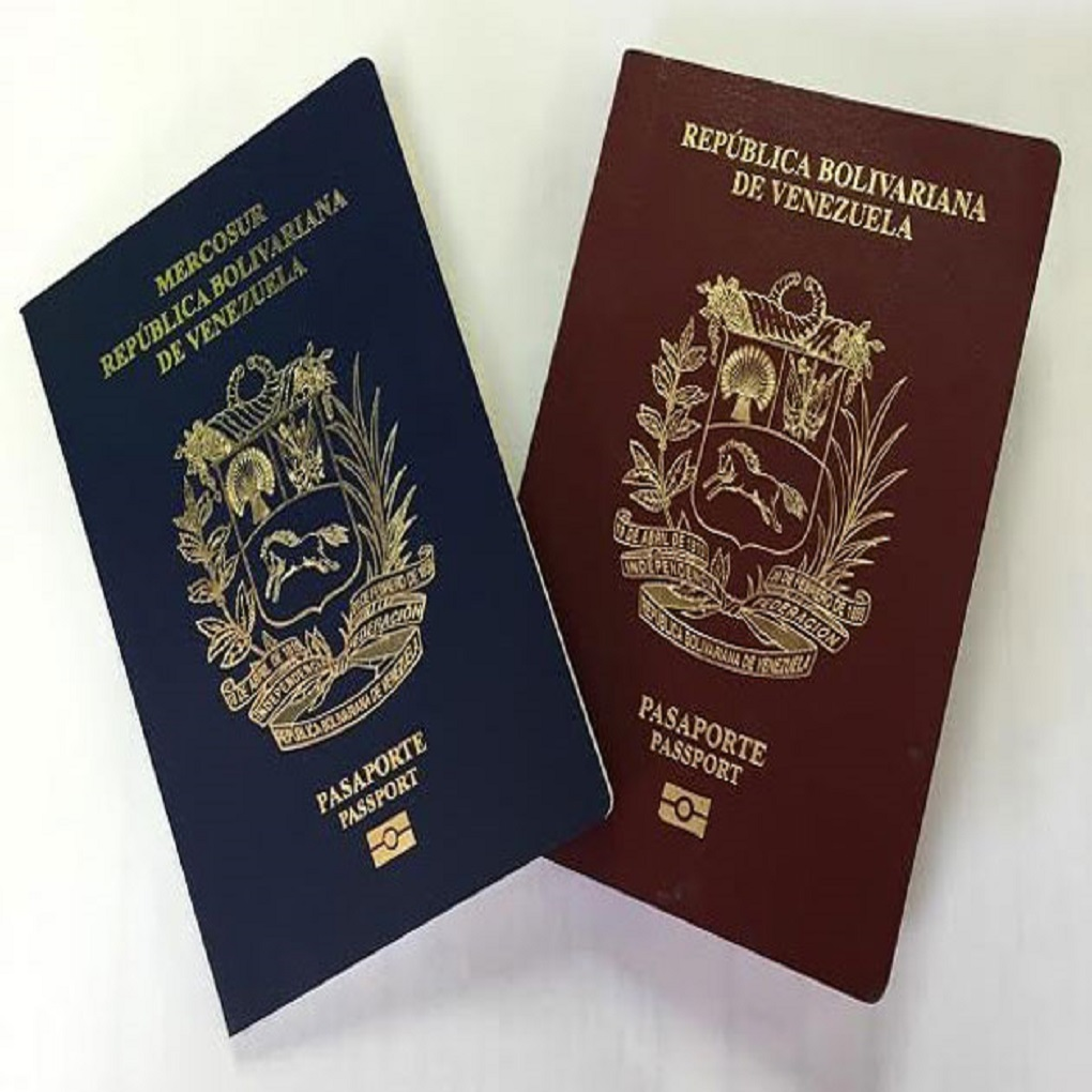 Prórroga de pasaportes venezolanos a partir del 1 de noviembre