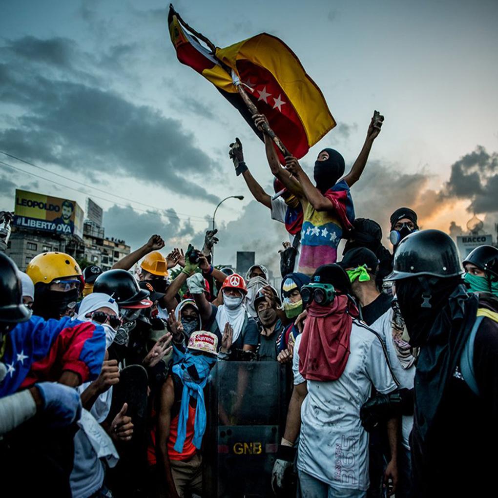 """Protestas en Chacao dejan 10 miembros de la """"Resistencia"""" detenidos"""