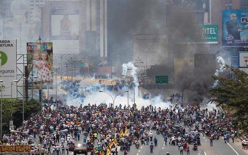 Protestas en Venezuela 2017: represión indiscriminada