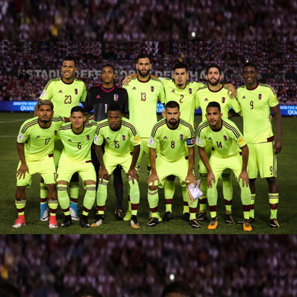 Vinotinto se mantiene en el puesto 39 del ranking FIFA
