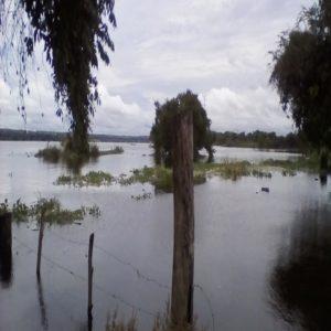 Piden refugio ante fuertes inundaciones en Guayana