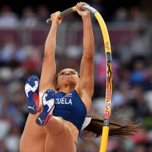 Robeilys Peinado en el Mundial de Atletismo 2017 gana medalla de bronce