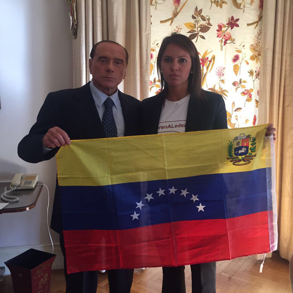 Silvio Berlusconi se solidariza con el pueblo de Venezuela