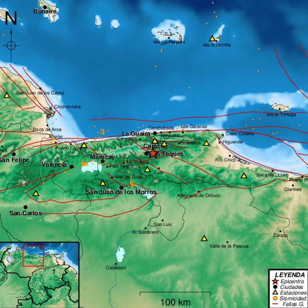 Sismo en Los Teques hoy fue de 3.3 de magnitud en Ritcher