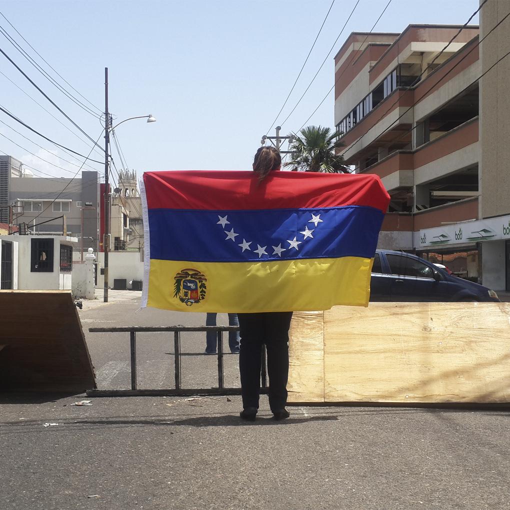 Fotos del trancazo 28 de junio en Caracas y Maracaibo