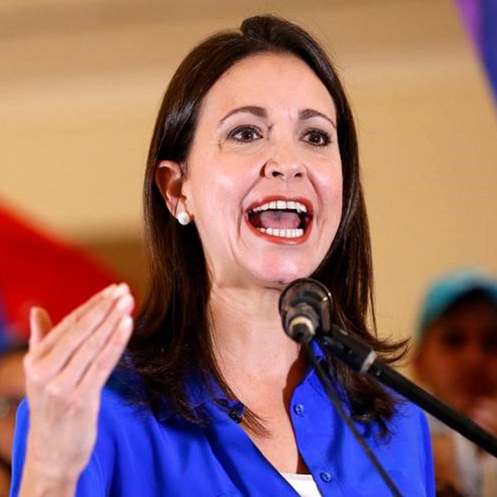 María Corina Machado pidió la transición en Venezuela