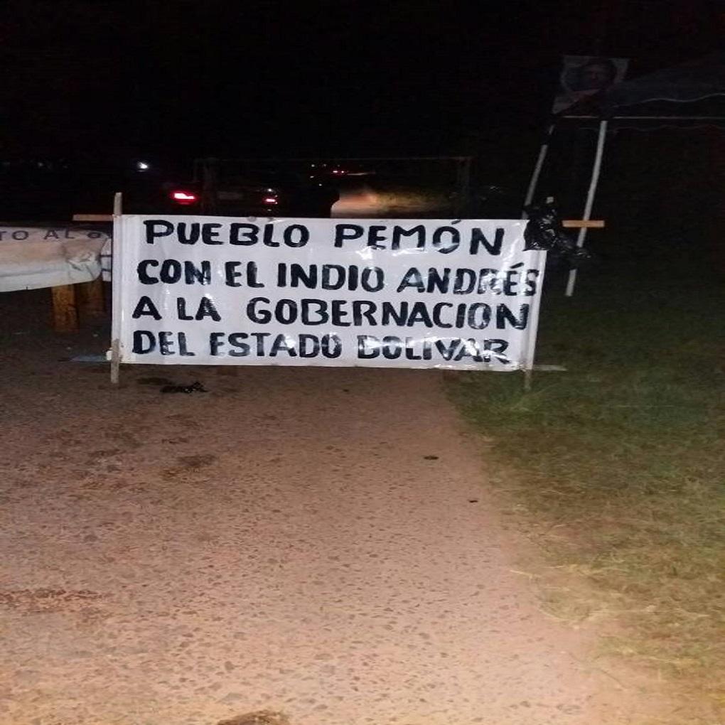 Indígenas reclaman a Andrés Velásquez como gobernador de Bolívar