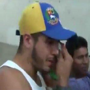 venezolano maltratado por vender arepas