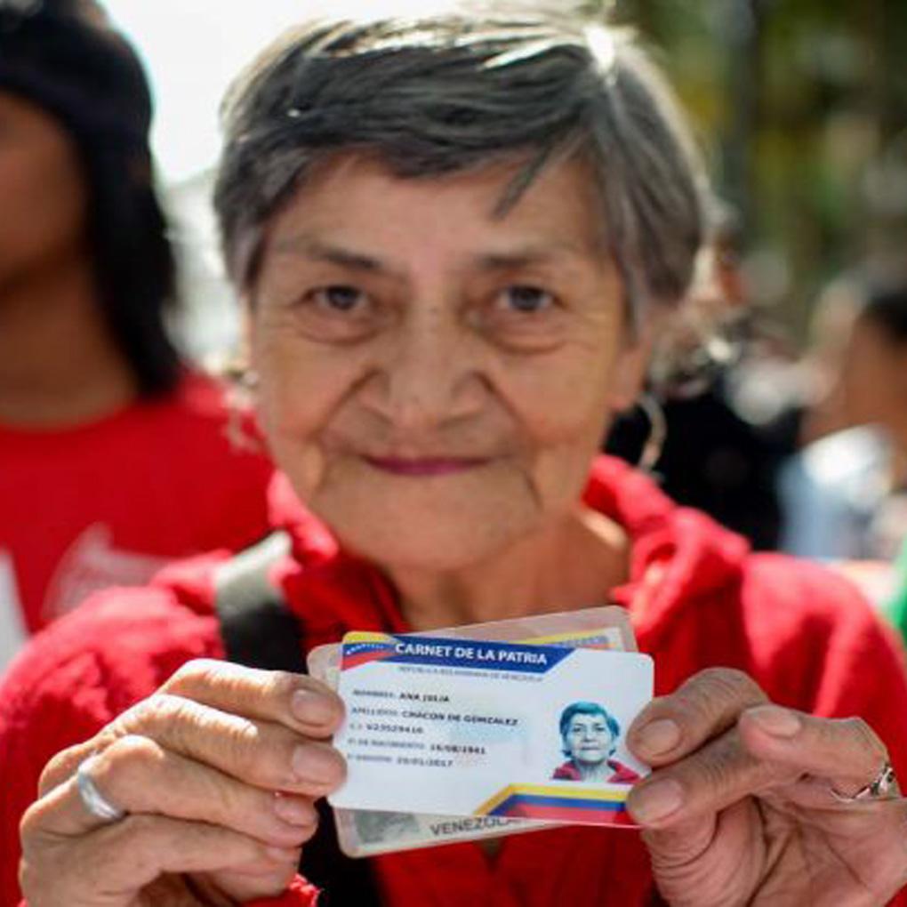 Vicesocial Carnet de la Patria nuevos pensionados
