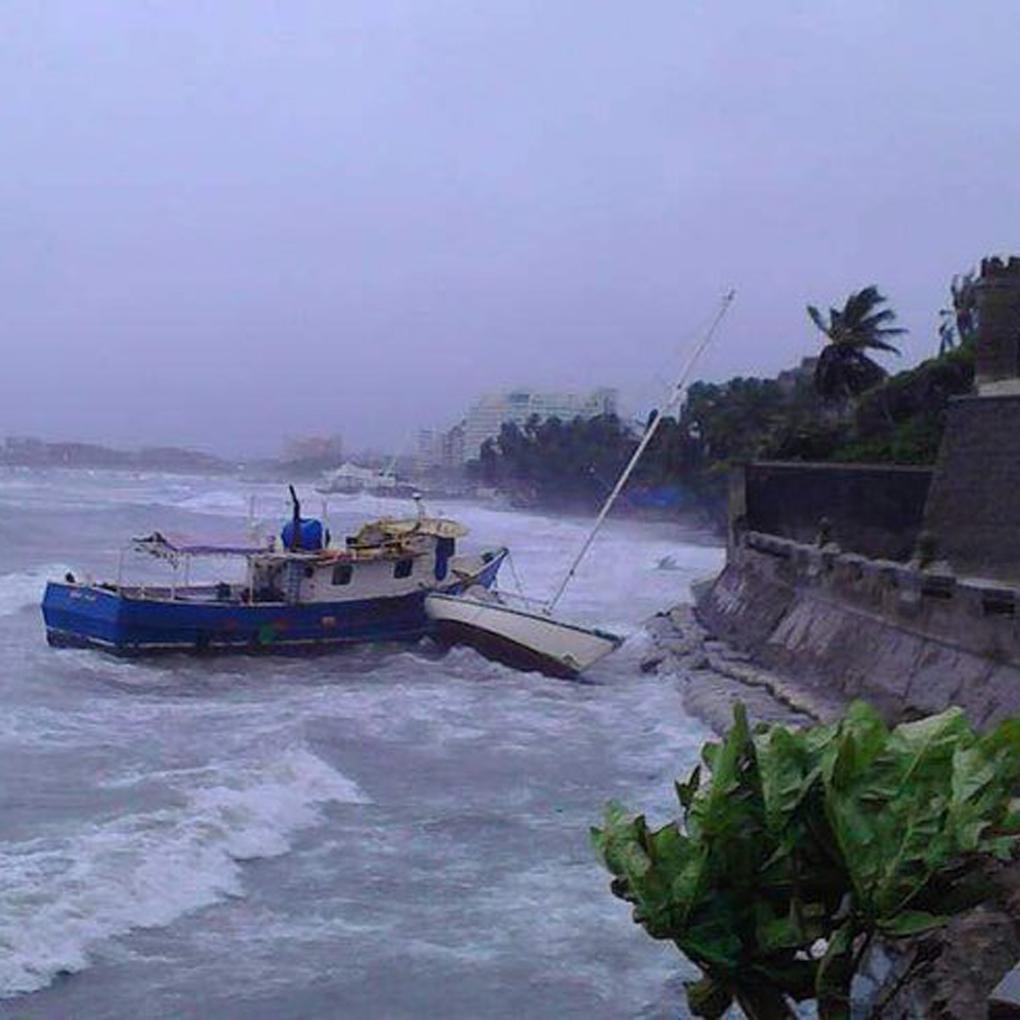 Videos de la tormenta Bret en Margarita Nueva Esparta