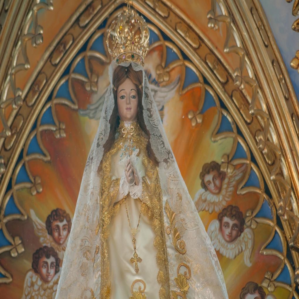 Cuantos años esta cumpliendo la Virgen del Valle