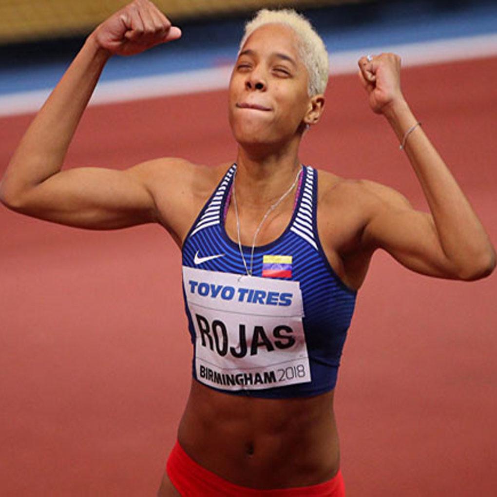 Yumilar Rojas embajadora Venezuela Juegos Olimpicos Juventud